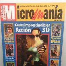 Coleccionismo de Revistas y Periódicos: MICROMANIA GUÍA ESPECIAL - GUÍAS IMPRESCINDIBLES ACCIÓN 3D (ENVÍO 4,31€). Lote 204717088