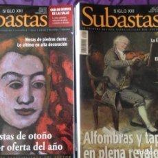 Coleccionismo de Revistas y Periódicos: LOTE 37 REVISTAS- SUBASTAS SIGLO XXI- ARTE- ANTIQVARIA- 2000- 2009. Lote 204784161
