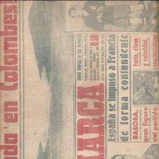 Coleccionismo de Revistas y Periódicos: 2109. DIARIO MARCA 20 JUNIO 1949.. Lote 204830443