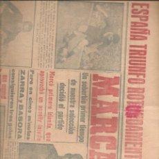 Coleccionismo de Revistas y Periódicos: 2112. DIARIO MARCA 13 JUNIO 1949. Lote 204831803