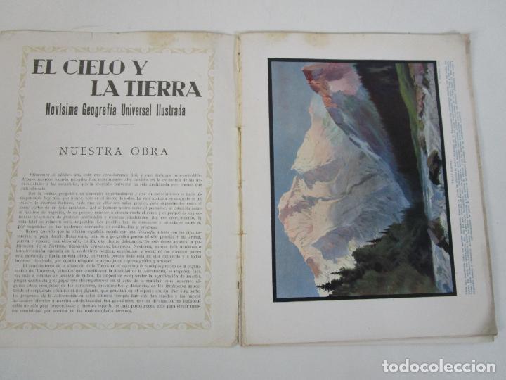 Coleccionismo de Revistas y Periódicos: El Cielo y la Tierra - Novisima Geografía Universal Ilustrada nº1 - Editorial Seguí - Años 30 - Foto 2 - 205008253