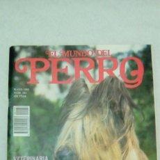 Coleccionismo de Revistas y Periódicos: EL MUNDO DEL PERRO Nº 182 PASTOR DE BRIE, MAYO-1995. Lote 205087945