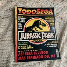 Coleccionismo de Revistas y Periódicos: TODOSEGA - TODO SEGA Nº 5 - JURASSIC PARK - REVISTA VIDEOJUEGOS. Lote 205305950