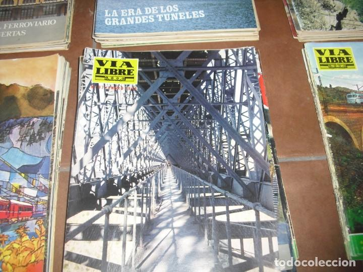 Coleccionismo de Revistas y Periódicos: GRAN LOTE 144 NÚMEROS REVISTA VIA LIBRE RENFE FERROVIARIOS - Foto 5 - 205306130