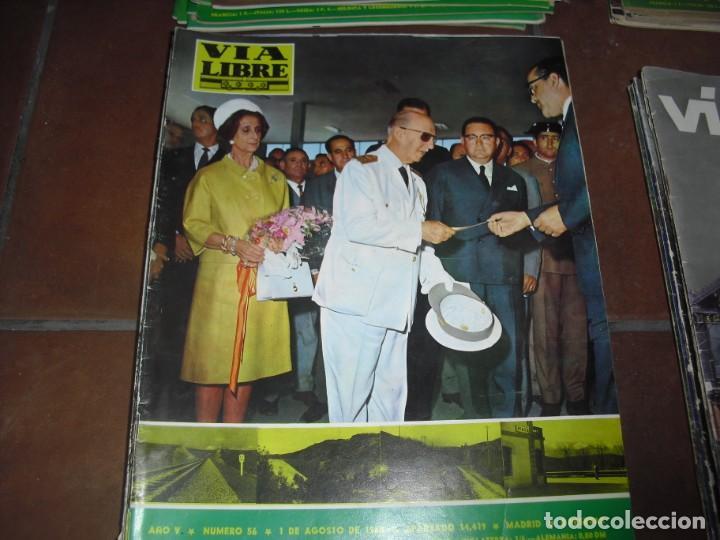 Coleccionismo de Revistas y Periódicos: GRAN LOTE 144 NÚMEROS REVISTA VIA LIBRE RENFE FERROVIARIOS - Foto 9 - 205306130