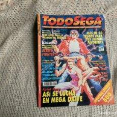 Coleccionismo de Revistas y Periódicos: TODOSEGA - TODO SEGA Nº 2 MEGA DRIVE - STREET FIGHTER II - REVISTA VIDEO JUEGOS. Lote 205306411