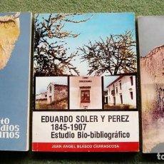 Coleccionismo de Revistas y Periódicos: REVISTA ESTUDIOS ALICANTINOS PACK2. Lote 205310807