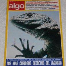 Coleccionismo de Revistas y Periódicos: REVISTA ALGO Nº 292 DEL AÑO DE 1976. Lote 205326586