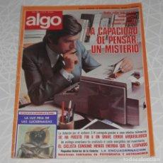 Coleccionismo de Revistas y Periódicos: REVISTA ALGO Nº 291 DEL AÑO DE 1976. Lote 205326723