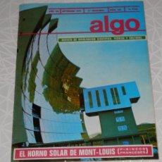 Coleccionismo de Revistas y Periódicos: REVISTA ALGO Nº 162 DEL AÑO DE 1970. Lote 205326838