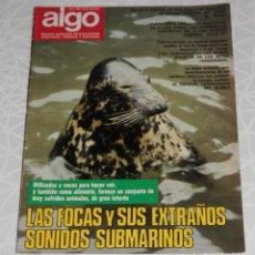 Coleccionismo de Revistas y Periódicos: REVISTA ALGO Nº 219 DEL AÑO DE 1973. Lote 205326937