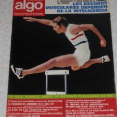 Coleccionismo de Revistas y Periódicos: REVISTA ALGO Nº 218 DEL AÑO DE 1973. Lote 205327046