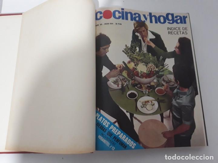Coleccionismo de Revistas y Periódicos: Revistas encuadernadas- cocina y hogar/ 1974,del n°129 al 140 - Foto 4 - 205442017