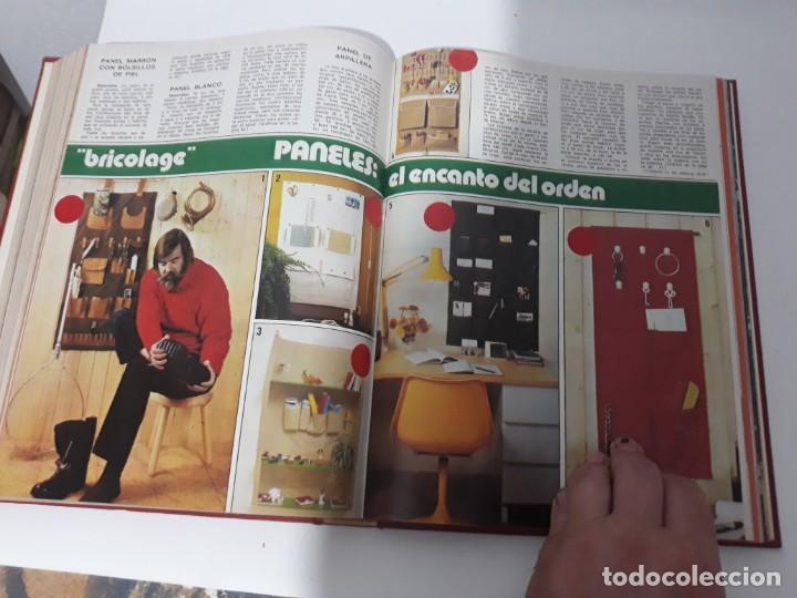 Coleccionismo de Revistas y Periódicos: Revistas encuadernadas- cocina y hogar/ 1974,del n°129 al 140 - Foto 5 - 205442017