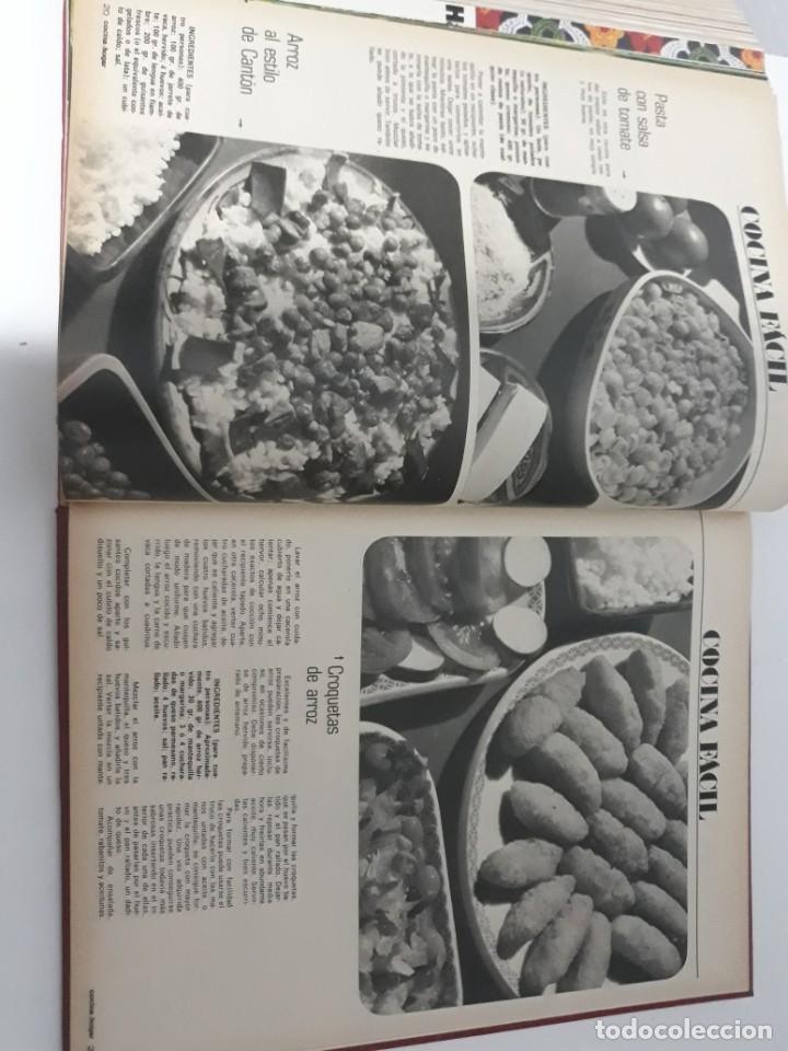 Coleccionismo de Revistas y Periódicos: Revistas encuadernadas- cocina y hogar/ 1974,del n°129 al 140 - Foto 8 - 205442017