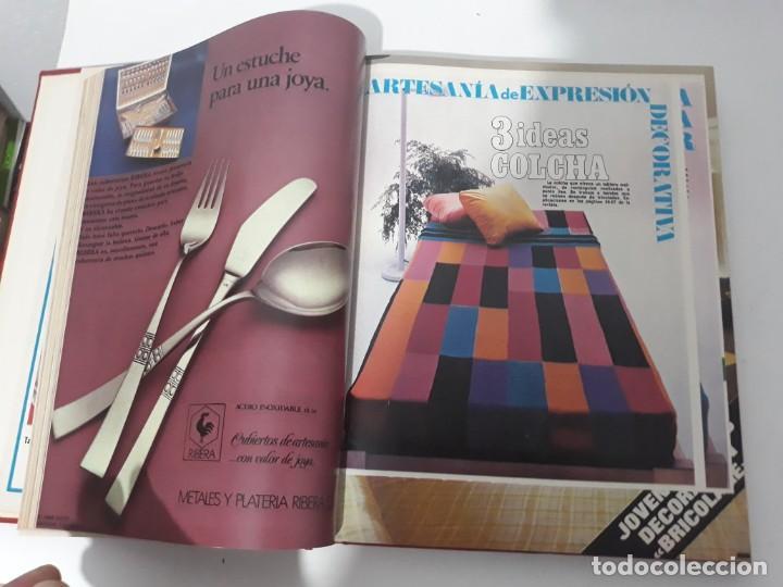 Coleccionismo de Revistas y Periódicos: Revistas encuadernadas- cocina y hogar/ 1974,del n°129 al 140 - Foto 9 - 205442017