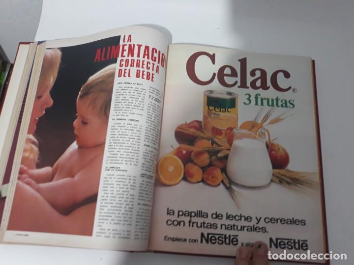 Coleccionismo de Revistas y Periódicos: Revistas encuadernadas- cocina y hogar/ 1974,del n°129 al 140 - Foto 11 - 205442017