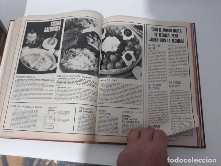 Coleccionismo de Revistas y Periódicos: Revistas encuadernadas- cocina y hogar/ 1974,del n°129 al 140 - Foto 12 - 205442017