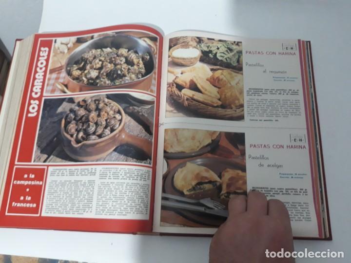 Coleccionismo de Revistas y Periódicos: Revistas encuadernadas- cocina y hogar/ 1974,del n°129 al 140 - Foto 13 - 205442017
