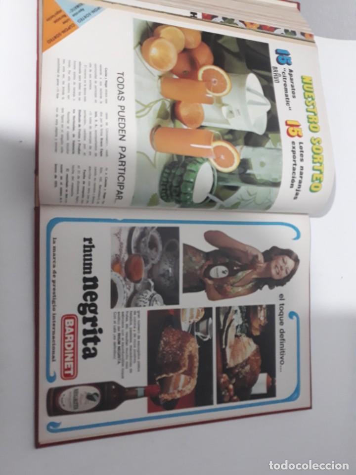 Coleccionismo de Revistas y Periódicos: Revistas encuadernadas- cocina y hogar/ 1974,del n°129 al 140 - Foto 14 - 205442017