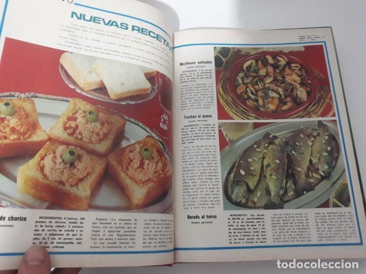 Coleccionismo de Revistas y Periódicos: Revistas encuadernadas- cocina y hogar/ 1974,del n°129 al 140 - Foto 15 - 205442017