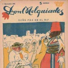 Coleccionismo de Revistas y Periódicos: DON MELQUÍADES, NÚM. 4 (1914). Lote 205462332