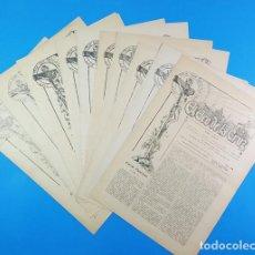 Coleccionismo de Revistas y Periódicos: LOTE 10 PERIODICOS EL ECO DE LA CRUZ ZARAGOZA / ECOS DEL CORAZON DE MARIA BARBASTRO, AÑOS 1929-1930. Lote 205519156
