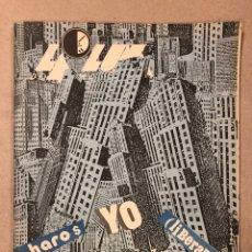 Coleccionismo de Revistas y Periódicos: LA LUNA DE MADRID N° 5 (1984). REVISTA MOVIDA MADRILEÑA. PORTDA J.C. EGUILLOR, MÚSICA (GABINETE CALI. Lote 205698911