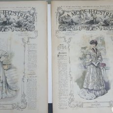 Coleccionismo de Revistas y Periódicos: 2 REVISTAS DE MODA DE 1907.. Lote 205728186