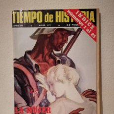 Coleccionismo de Revistas y Periódicos: REVISTA - TIEMPO DE HISTORIA - POLITICA - LA MUJER BAJO EL FRANQUISMO - NUM . 27. Lote 205753503
