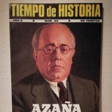 Coleccionismo de Revistas y Periódicos: REVISTA - TIEMPO DE HISTORIA - POLITICA - ESPAÑA CATOLICA AZAÑA - NUM . 23. Lote 205753506