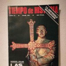 Coleccionismo de Revistas y Periódicos: REVISTA - TIEMPO DE HISTORIA - POLITICA - LAS IDEOLOGIAS FRANQUISTAS FRANCO - NUM . 28. Lote 205753516