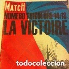 Coleccionismo de Revistas y Periódicos: PARIS MATCH - LA VICTOIRE 14-18- AÑO 1964- NUM.803. Lote 205766230