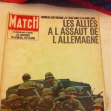 Coleccionismo de Revistas y Periódicos: PARIS MATCH - 1945-1965 - FÉVRIER 1965. Lote 205766325