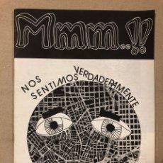 """Coleccionismo de Revistas y Periódicos: MMM..!! (MADRID 1976). HISTÓRICO FANZINE ORIGINAL DE FERNANDO MÁRQUEZ """"EL ZURDO"""",. Lote 205773602"""