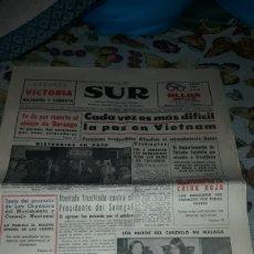 Coleccionismo de Revistas y Periódicos: PERIODICO SUR. NUM. 9.042. DEL JUEVES 23 DE MARZO DE 1967. COMPLETO. RARO. Lote 205796303