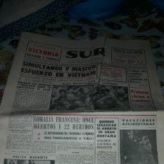 Coleccionismo de Revistas y Periódicos: PERIODICO SUR. NUM. 9.040. MARTES 21 DE MARZO DE 1967. COMPLETO. Lote 205798151