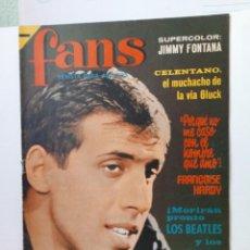 Coleccionismo de Revistas y Periódicos: ANTIGUA REVISTA MUSICAL FANS AÑO 1966. Lote 205828628