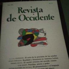 Coleccionismo de Revistas y Periódicos: REVISTA DE OCCIDENTE, AÑO 1981, N. 5. Lote 205852282