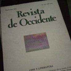 Coleccionismo de Revistas y Periódicos: REVISTA DE OCCIDENTE. Nº 40. CINE Y LITERATURA. GUILLERMO CABRERA INFANTE: SCENARIO; SUSAN SONTAG: D. Lote 205852355