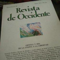 Coleccionismo de Revistas y Periódicos: REVISTA DE OCCIDENTE, EXTRAORDINARIO IX, NÚMEROS 33-34, FEBRERO-MARZO 1984. Lote 205852493