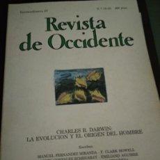 Coleccionismo de Revistas y Periódicos: REVISTA DE OCCIDENTE, NÚMEROS 18-19, EXTRAORDINARIO IV. Lote 205852553