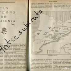 Coleccionismo de Revistas y Periódicos: REVISTA ANY 1920 ORFEONS DE CATALUNYA AMETLLA DE MEROLA BERGA SURIA SOLSONA MANRESA PONT VILOMARA. Lote 205867431