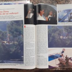 Coleccionismo de Revistas y Periódicos: 1990 LADY DI DIANA DE GALES EN MALLORCA. Lote 205872012