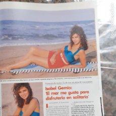 Coleccionismo de Revistas y Periódicos: ISABEL GEMIO. Lote 205872182
