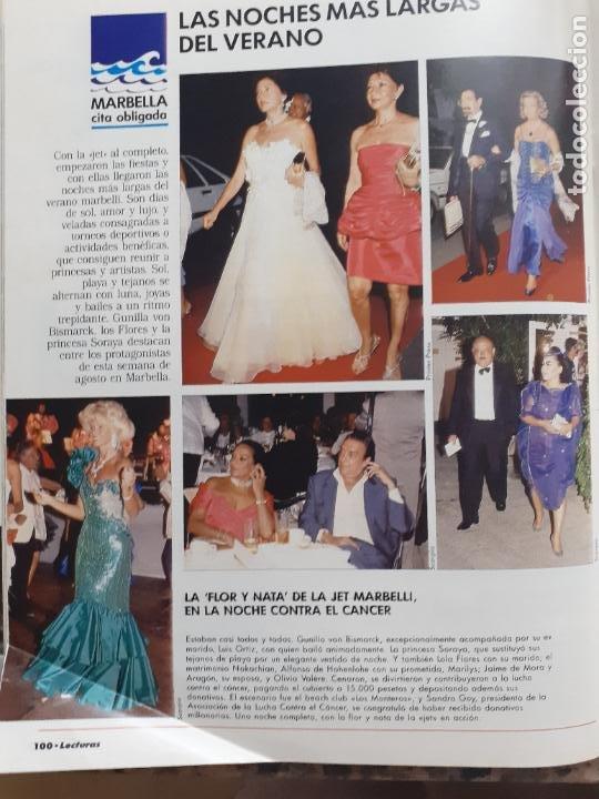 LOLA FLORES KIMERA GUNILLA SORAYA JAIME DE MORA Y ARAGON (Coleccionismo - Revistas y Periódicos Modernos (a partir de 1.940) - Otros)