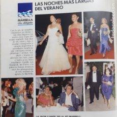Coleccionismo de Revistas y Periódicos: LOLA FLORES KIMERA GUNILLA SORAYA JAIME DE MORA Y ARAGON. Lote 205872215