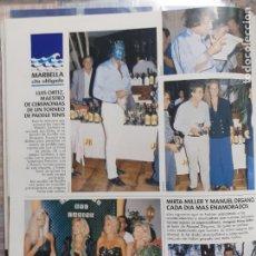 Coleccionismo de Revistas y Periódicos: MIRTA MILLER MANOLO DEGANO GUNILLA OLIVIA VALERE LUIS ORTIZ MANOLO SANTANA PAULA VAZQUEZ. Lote 205872241