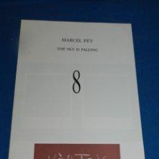 Coleccionismo de Revistas y Periódicos: (M) REVISTA VÈRTEX N.8 MARCEL PEY THE SKY IS FALLING , EDICIÓ DE 191 EXEMPLARS. Lote 205902617