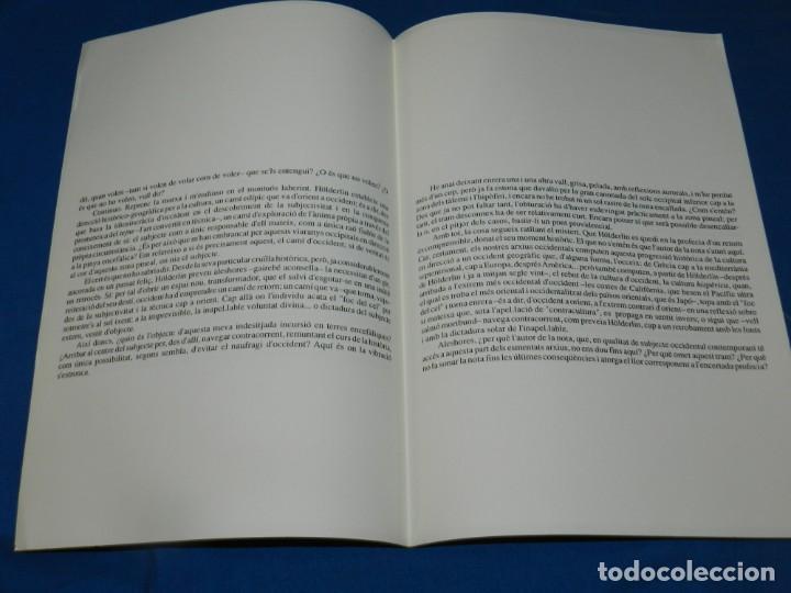 Coleccionismo de Revistas y Periódicos: (M) REVISTA VÈRTEX N.13 PAU RIBA VIATGE FORÇAT A LEPÍFISI , EDICIÓ DE 191 EXEMPLARS - Foto 2 - 205910616